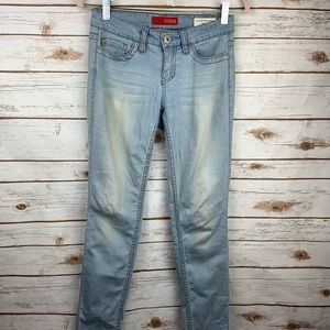 Guess Womens Low Rise Power Skinny Cindy Fit Jeans
